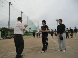 準優勝;野田西一組選手代表