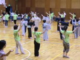 盆踊り練習(3)