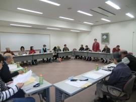 地区委員(組長)会議
